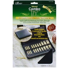 Clover Interchangeable Circular Knitting Needles Takumi Combo Set