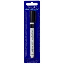 DecoArt Glass Paint Marker, Black