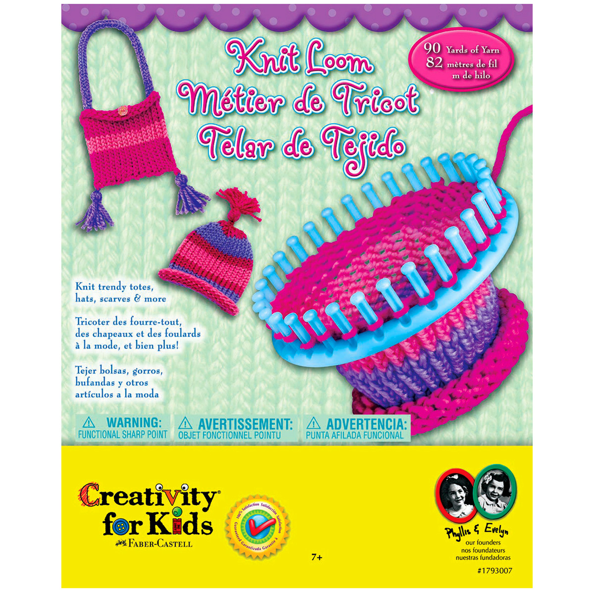 Knitting Loom Set Michaels : Creativity for kids quick knit loom