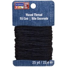 ArtMinds Waxed Thread, Black