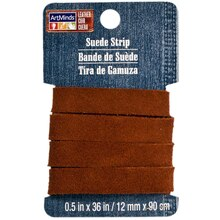 ArtMinds Suede Strip, Medium Brown, Package View 1