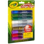 Crayola Washable Glitter Glue, 9 Count