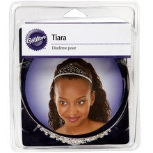 Wilton Rhinestone Filigree Tiara, Packaging