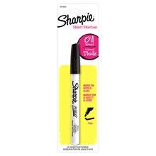 Sharpie Oil-Based Paint Marker, Fine Point Black