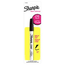 Sharpie Oil-Based Paint Marker, Extra Fine Point Black