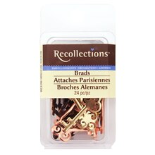 Key Lock Brads by Recollections