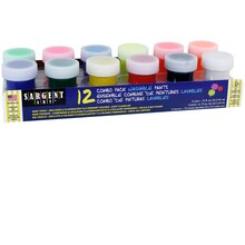 Sargent Art Washable Paint Combo 12/Set