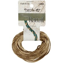 Dazzle-it! Rattail Cord, 1.5 mm Gold Bronze