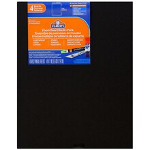 "Elmer's Black Foam Boards, 11"" x 14"""