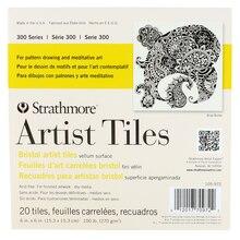 "Strathmore 300 Series Bristol Artist Tiles, 6"" x 6"""