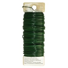 Panacea Green Floral Wire, 22 Gauge