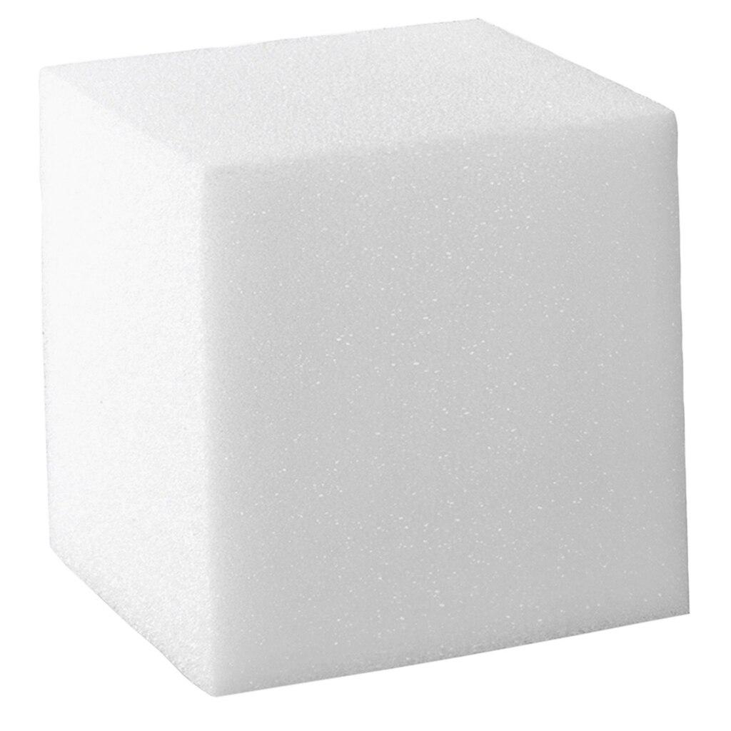 Floracraft 174 Styrofoam 174 Cube White