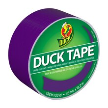 Color Duck Tape Brand Duct Tape, Purple