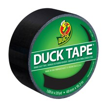 Color Duck Tape Brand Duct Tape, Black