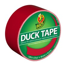Color Duck Tape Brand Duct Tape, Red