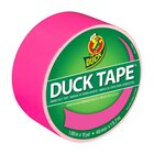 Color Duck Tape Brand Duct Tape, Neon Pink