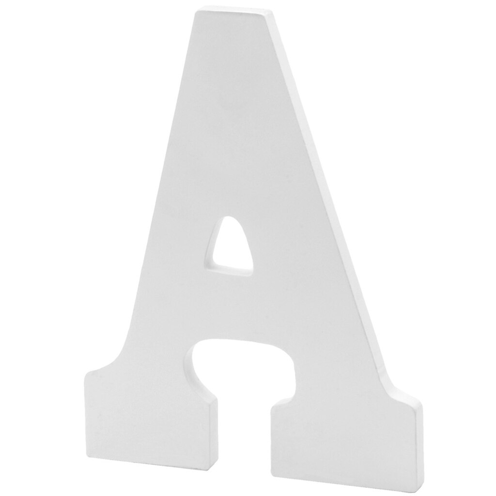 white wood letter by artmindsr 9quot With white wood letters michaels