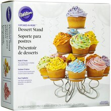 Wilton Cupcakes-N-More Dessert Stand, 8 1/2""