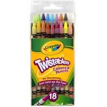 Crayola Twistables Colored Pencils 18 Count