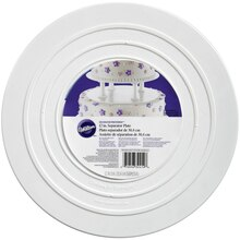 Wilton Decorator Preferred Smooth-Edge Separator Plate 12""