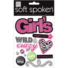 MAMBI Soft Spoken Embellishments, Girl's Night Out