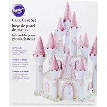 Wilton Castle Cake Set Packaged