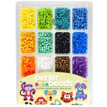 Perler Tray of Beads with Idea Book