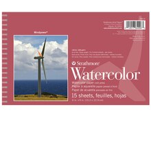 "Strathmore Windpower Watercolor Pad, 6"" x 9"""