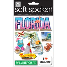 MAMBI Soft Spoken Embellishments, Florida Flamingo