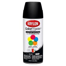 Krylon ColorMaster Satin Enamel, Black