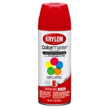 Krylon ColorMaster Gloss Enamel, Banner Red