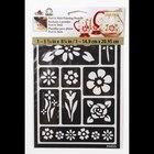 FolkArt Peel & Stick Painting Stencils, Floral