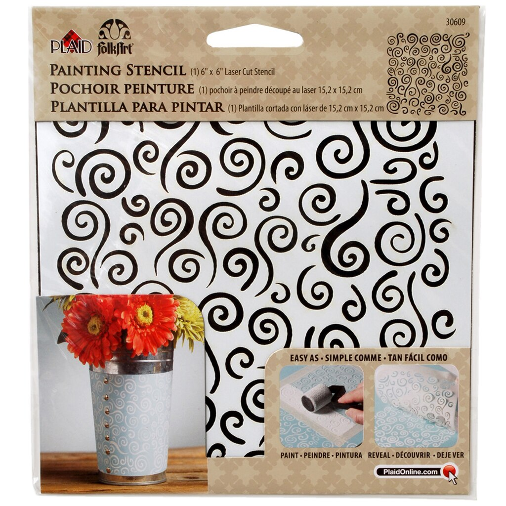 Wall stencils at michaels images home wall decoration ideas paint stencils michaels folkart small painting stencil swirl background amipublicfo images amipublicfo Image collections
