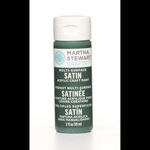 Martha Stewart Crafts Multi-Surface Satin Acrylic Craft Paint, Seaweed