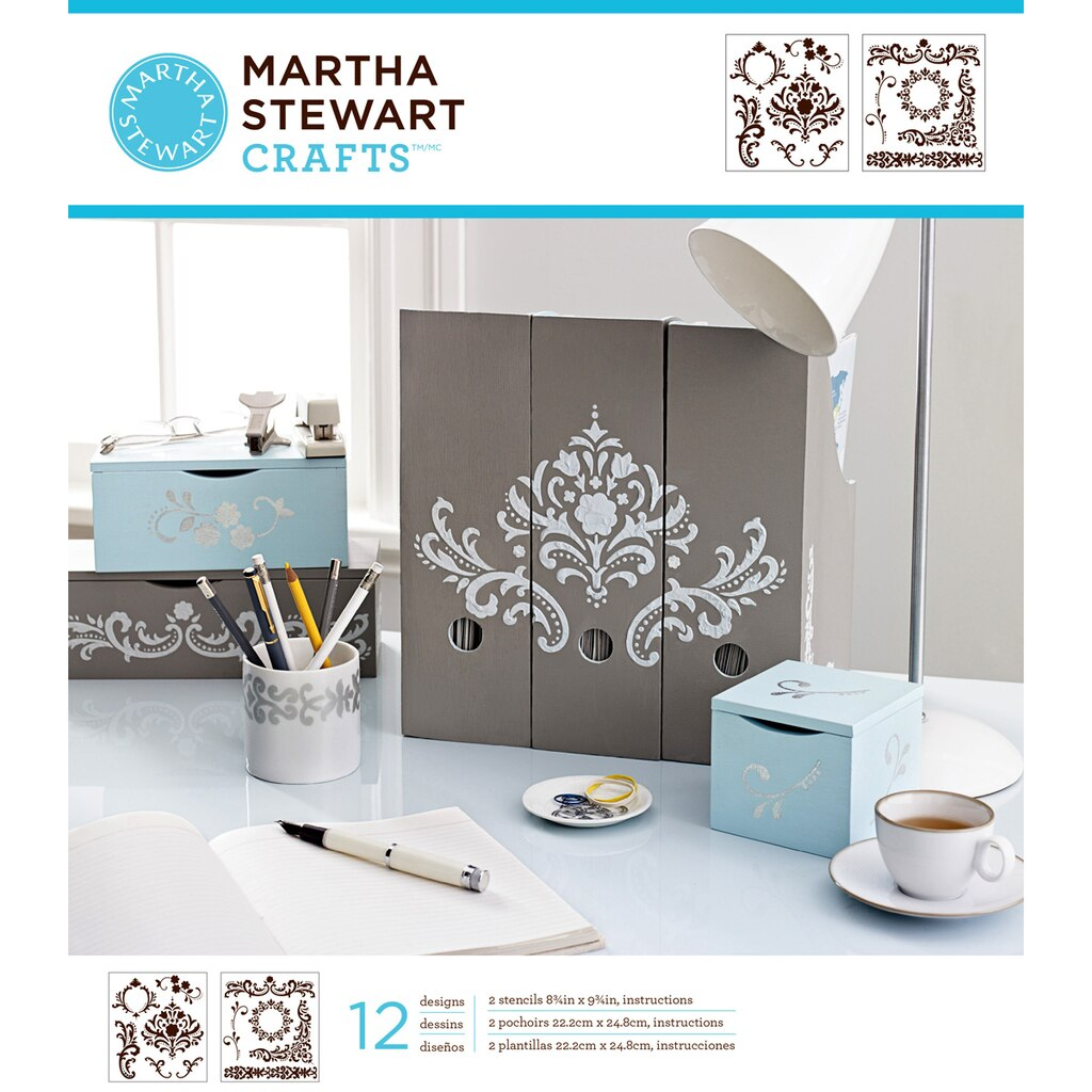 Martha Stewart Crafts® Laser-Cut Stencils, Flourish