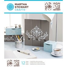 Martha Stewart Crafts Laser-Cut Stencils, Flourish