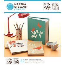 Martha Stewart Crafts Laser-Cut Stencils, Birds & Berries