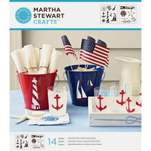 Martha Stewart Crafts Laser-Cut Stencils, Nautical Study
