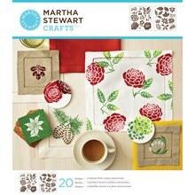 Martha Stewart Crafts Laser-Cut Stencils, Four Seasons