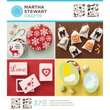 Martha Stewart Crafts Laser-Cut Stencils, Holiday Icons