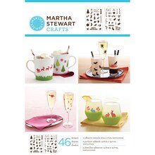 Martha Stewart Crafts Holiday Icons II Adhesive Stencils