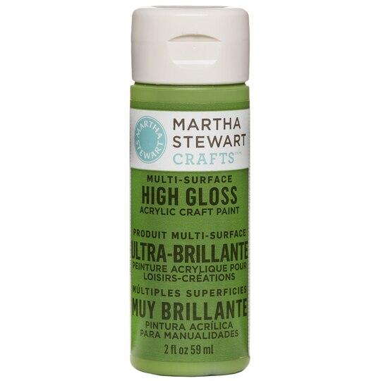 Burgundy Acrylic High Gloss: Martha Stewart Crafts® High Gloss Acrylic Paint