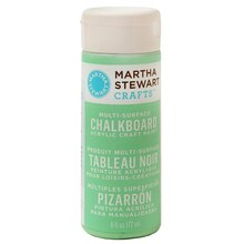 Martha Stewart Crafts Multi-Surface Acrylic Chalkboard Paint, Green