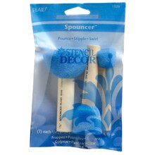 FolkArt Accessories Spouncer Stenciling Sponges Value Pack