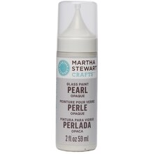 Martha Stewart Crafts Glass Paint, Pearl Opaque, Mother of Pearl