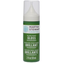Martha Stewart Crafts Glass Paint, Transparent Gloss, Sweetgrass