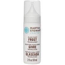 Martha Stewart Crafts Glass Paint, Frost Translucent, Wedding Cake