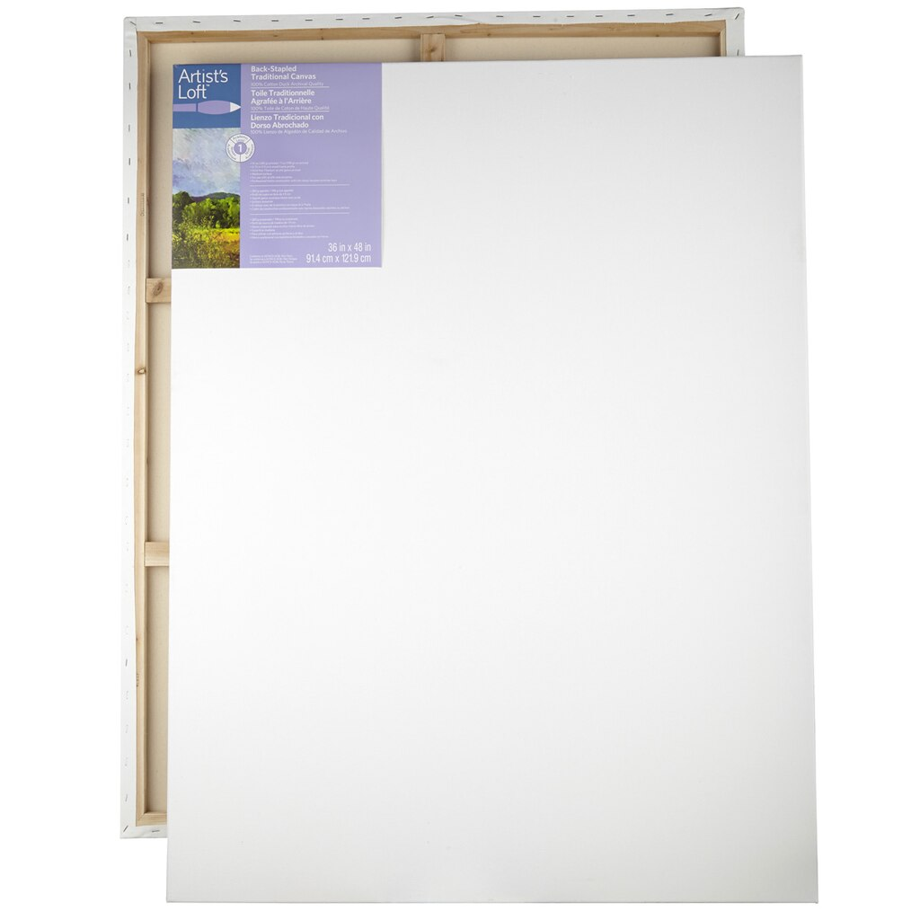 Artist's Loft® Back Stapled Canvas