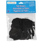 "Creatology Felt Stickers, Letters & Numbers, 2"", Black"