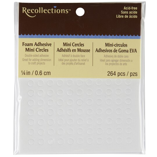 Recollections Foam Adhesive Circles